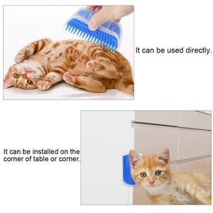 Wowslife™ Cat Self Grooming Brush Perfect Massager Tool