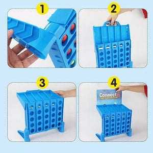 Wowslife™ Connect 4 Shots Board Games Set For Kids