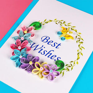 Wowslife™ DIY 3D Colorful Paper Set