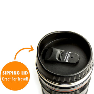Wowslife™ Camera Lens Coffee Mug