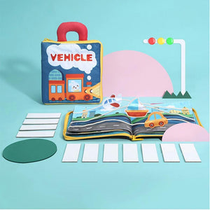Wowslife™ Early Education 3D Cloth Book