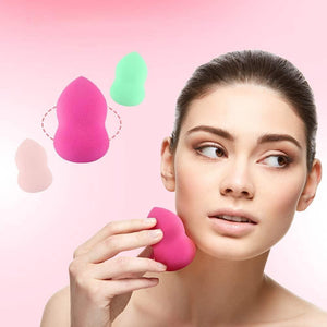 Wowslife™ 3 Pcs Make-up Sponge Set for Liquid Foundation, Creams and Powders