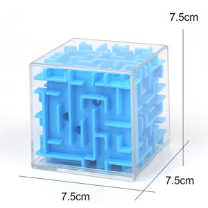 Wowslife™ 3D Maze Magic Cube Six-Sided Puzzle Rolling Ball Game Toys For Children