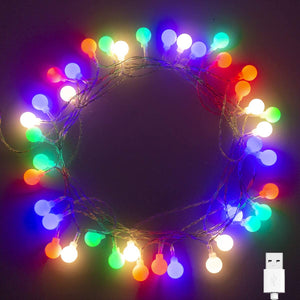 Wowslife™ Globe String Lights Holiday Decoration