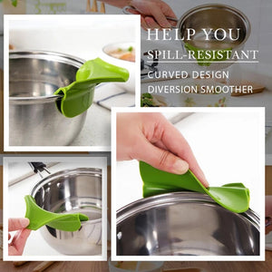 Wowslife™ Anti-spill Kitchenware Deflector Pour Soup