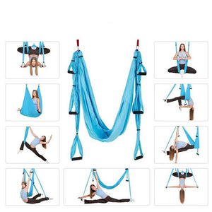 Wowslife™  Swing Inversion Therapy Anti-gravity Aerial Yoga Hammock