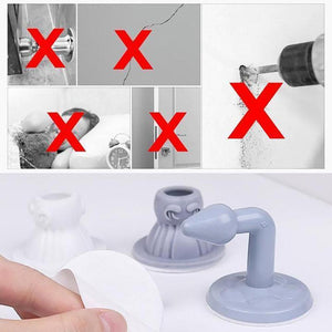 Wowslife™ Silicone House Door Stopper (2/4 PCs)