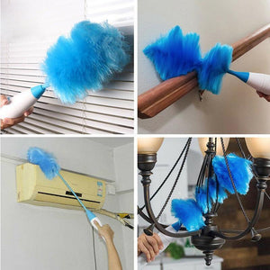 Wowslife™ Hurricane Spinning Duster with 2 Brushes to Exchange