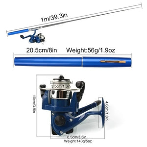 Wowslife™ Pen Mini Fishing Rod