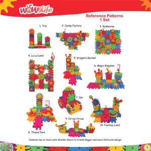 Wowslife ™3D Brain Trainer Building Blocks