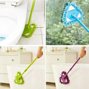 Wowslife™ 180 Degree Rotatable Adjustable Triangle Cleaning Mop