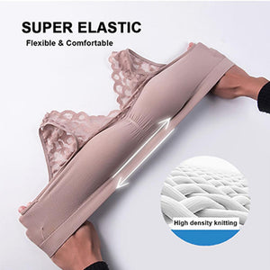 Wowslife™ Push Up Comfort Super Elastic Breathable Lace Bra