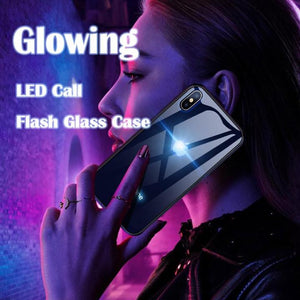 Wowslife™(50% OFF)  Glowing LED Call Flash Glass Case