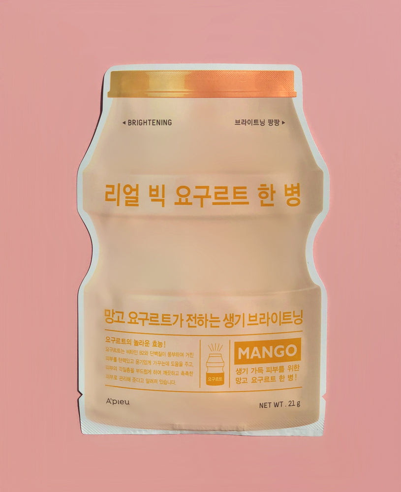 A'PIEU Real Big Yoghurt One-Bottle Mango Sheet Mask