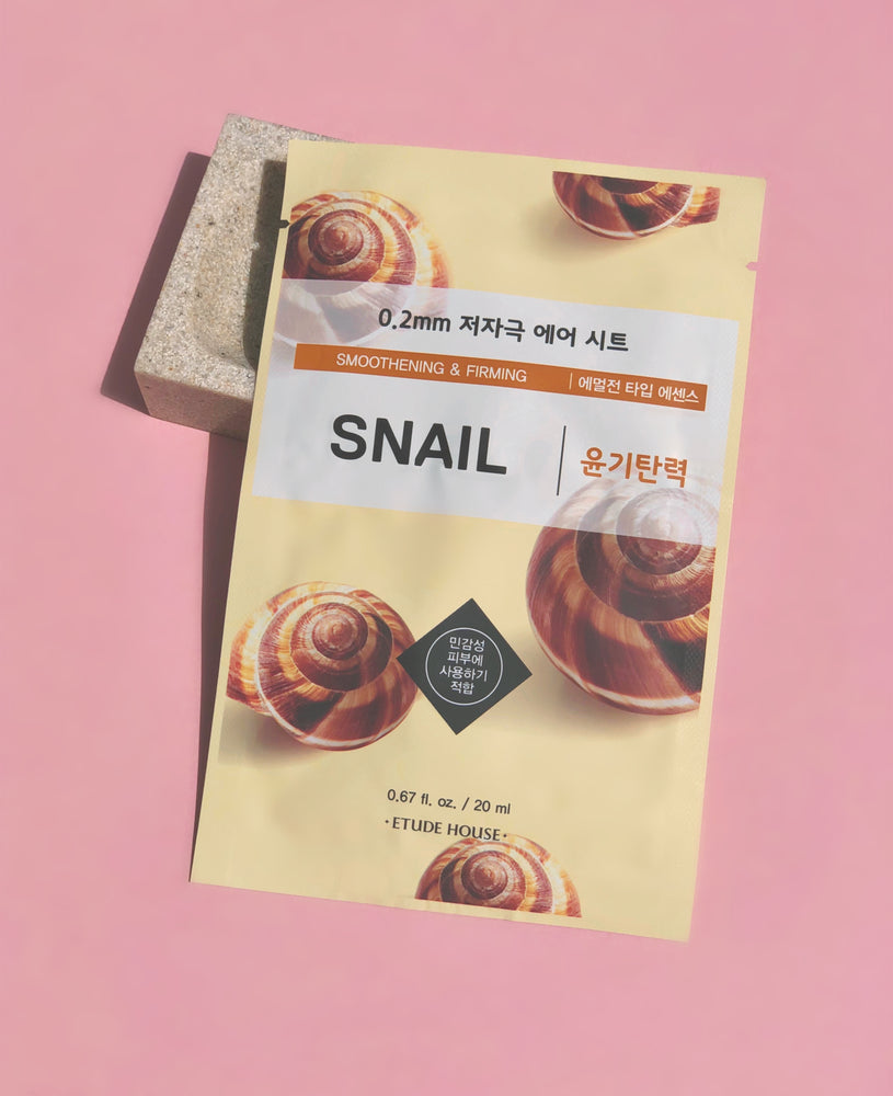 ETUDE HOUSE Snail Smooth & Firm 0.2mm Sheet Mask