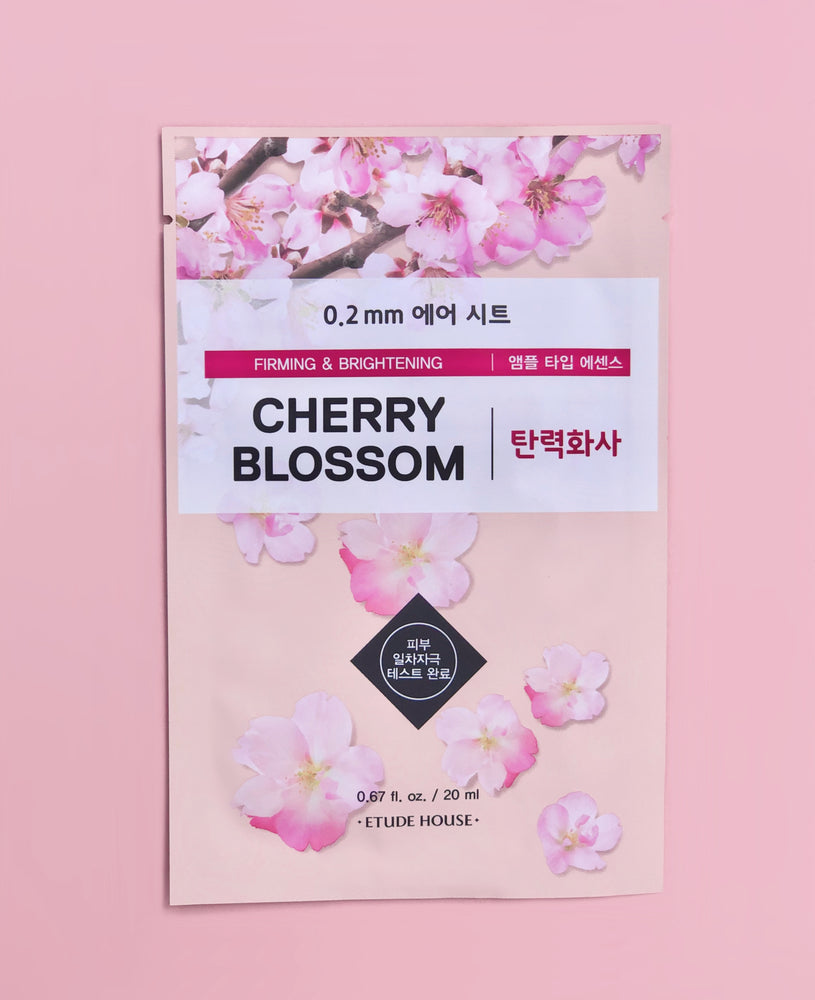 ETUDE HOUSE Cherry Blossom Firming & Brightening 0.2mm Sheet Mask