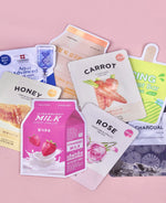 Oil Control Sheet Mask Set (4)