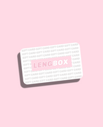 Lengbox Gift Card