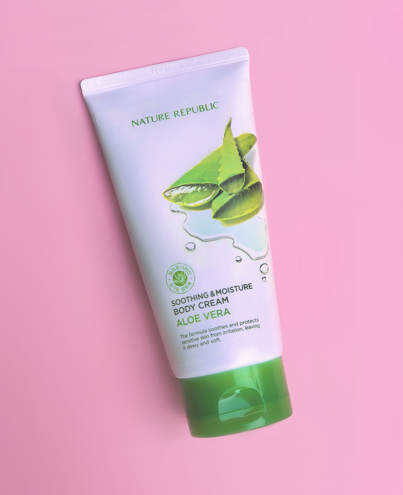NATURE REPUBLIC Soothing & Moisture Body Cream Aloe Vera 150ml
