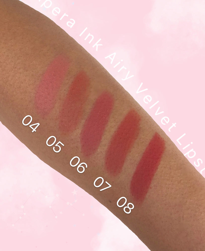 PERIPERA Ink Airy Velvet Lipstick 08 Warmy Red