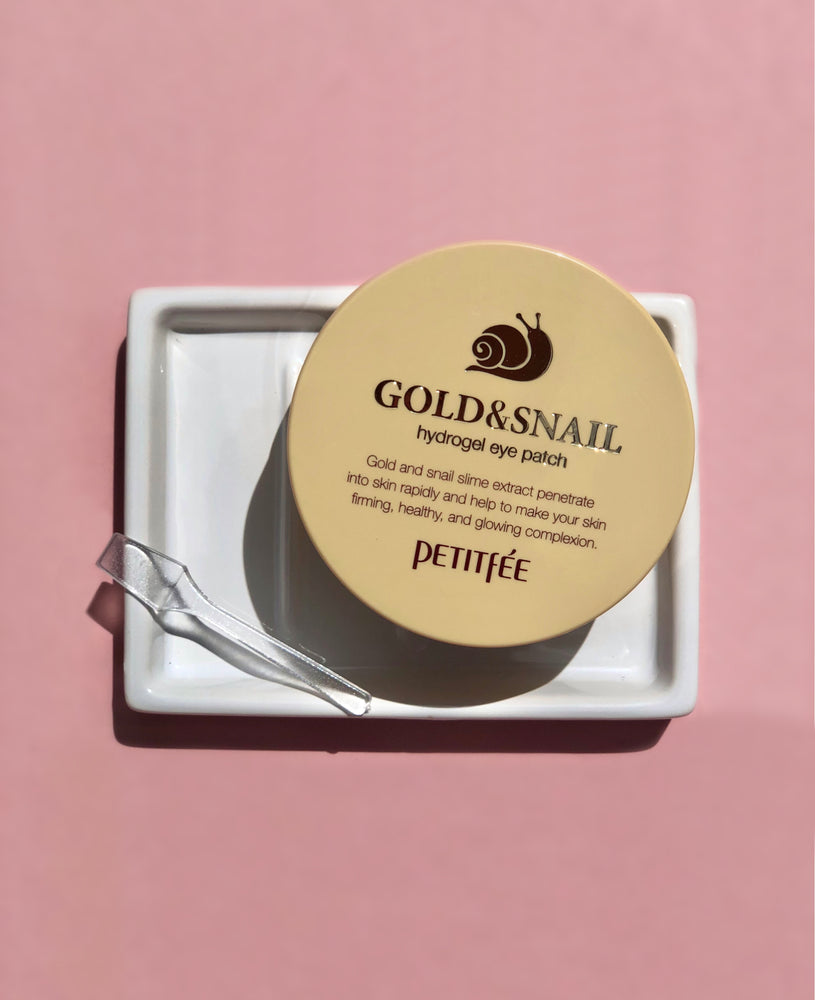 PETITFEE Gold & Snail Hydrogel Eye Patches (60)