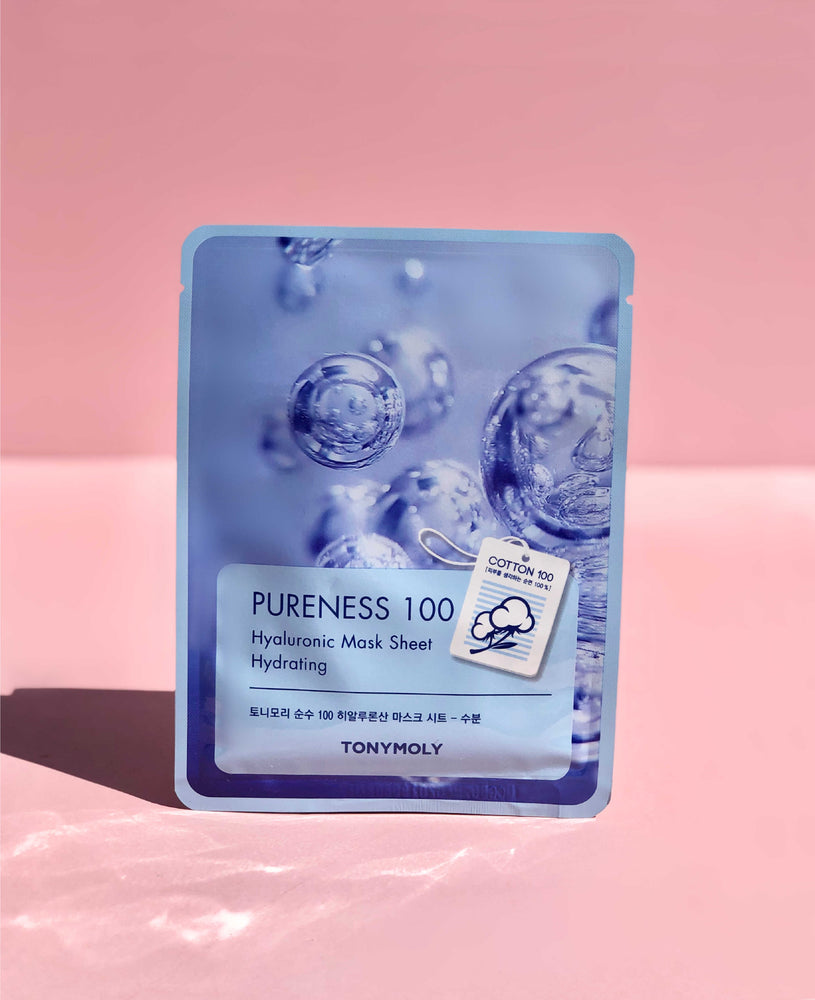 TONY MOLY Pureness 100 Mask Sheet Hyaluronic Acid