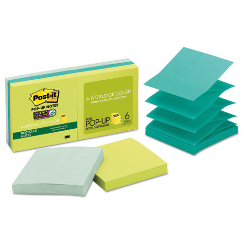Post-it Super Sticky Pop-up Notes,  3