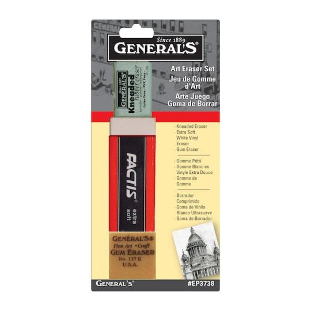 General Pencil Art Eraser Set