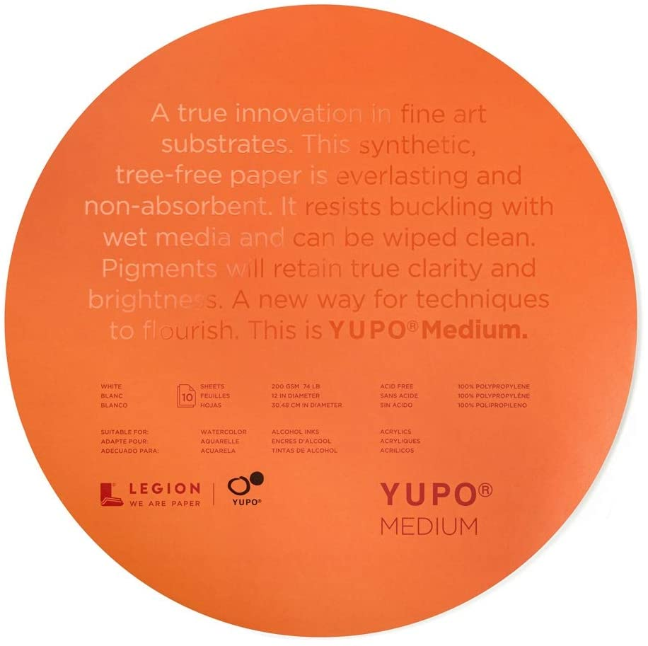 Legion YUPO Medium Round Pad