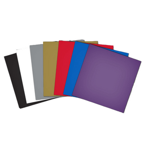 "Brother Adhesive Craft Vinyl, 12"" x 12"" Sheets (Pack of 10)"