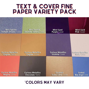 Text & Cover Fine Paper Variety Pack