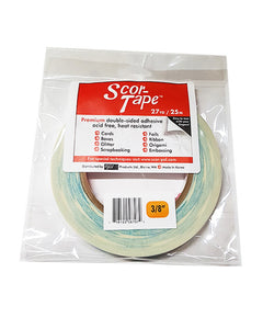 Scor-Tape Double-Sided Adhesive, 27 yd