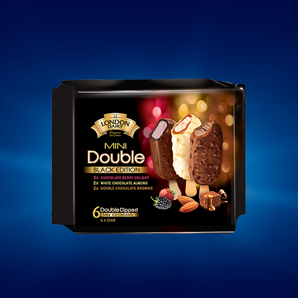 BE Double Multipack Choco Brownie+Almond White+chocolate Berry