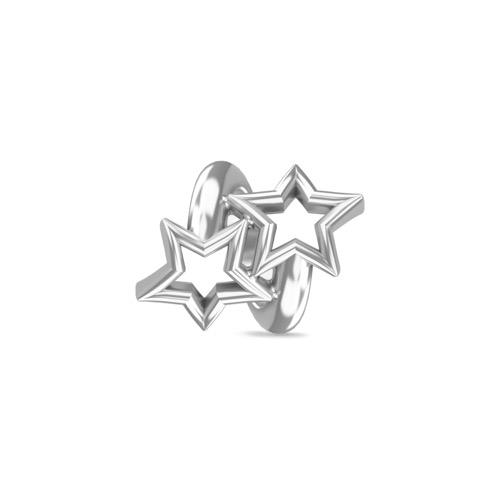 Twisted Stars Silver