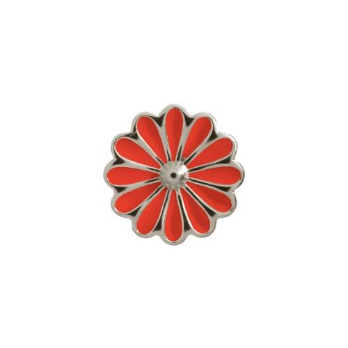 Red Daisy Silver