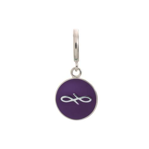 Violet Endless Coin Silver