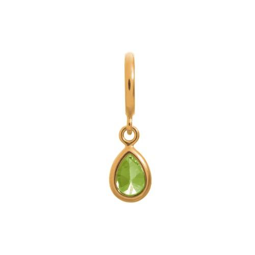 Peridot Drop Gold