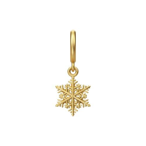 Snowflake Drop Gold