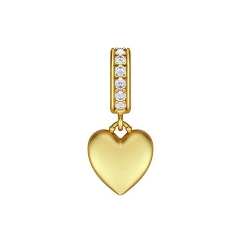 Sparkling Love Drop Gold