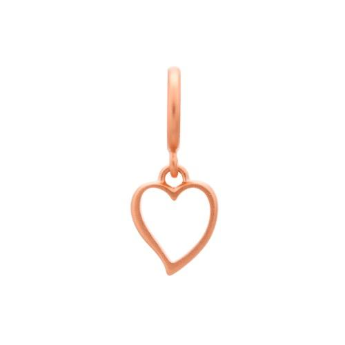 Big Heart Rose Gold