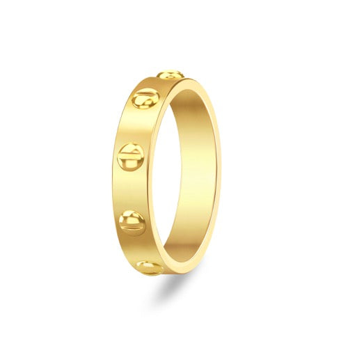 Love Crawing Ring Gold