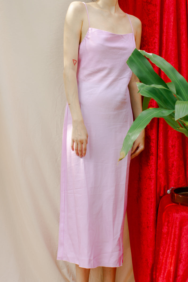 ASTR The Label Bonita Midi Dress in Pink Peony