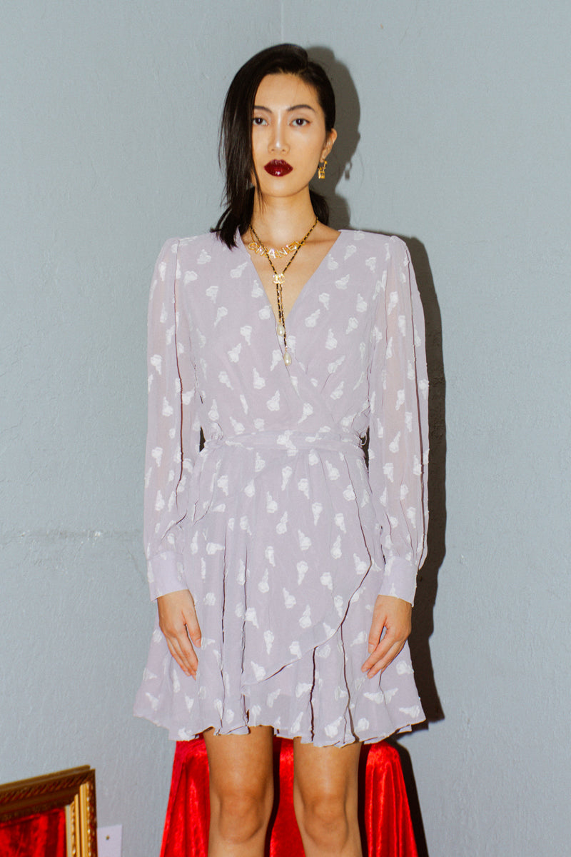 ASTR The Label Aja Long Sleeved Dress