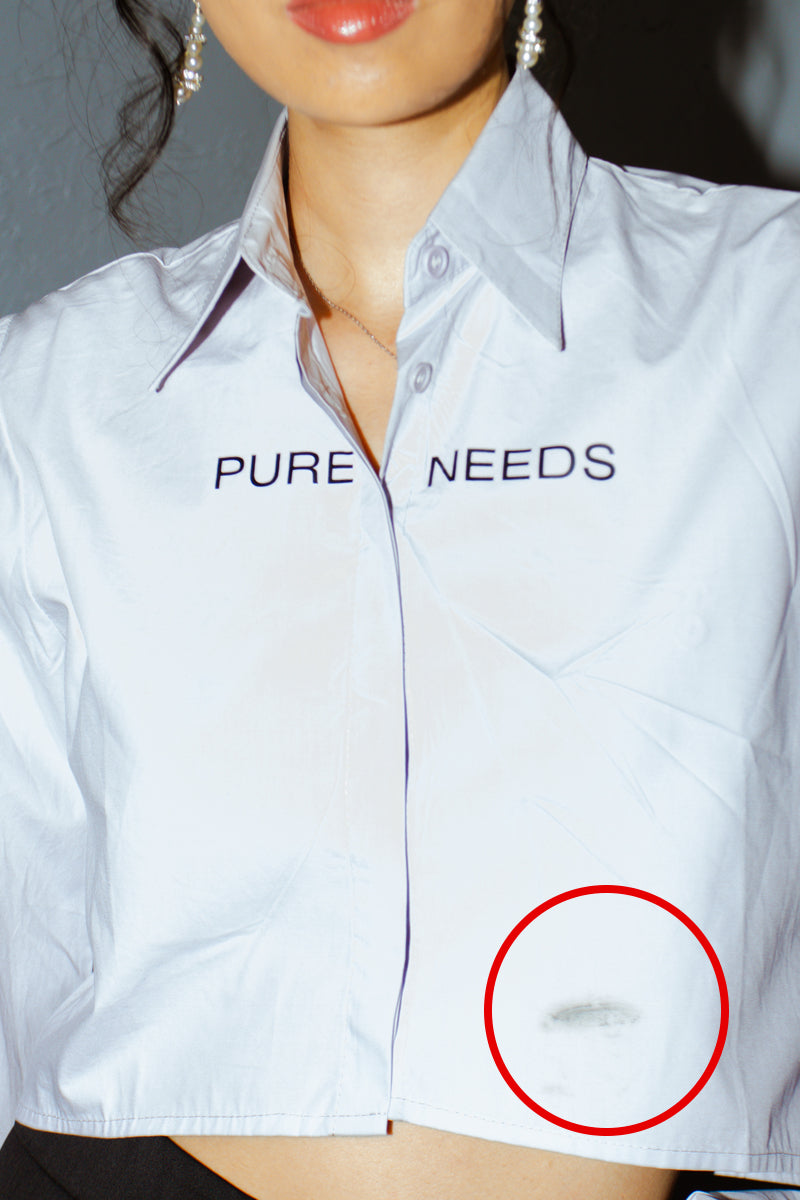 Pure Needs Extra Long Sleeve Shirt