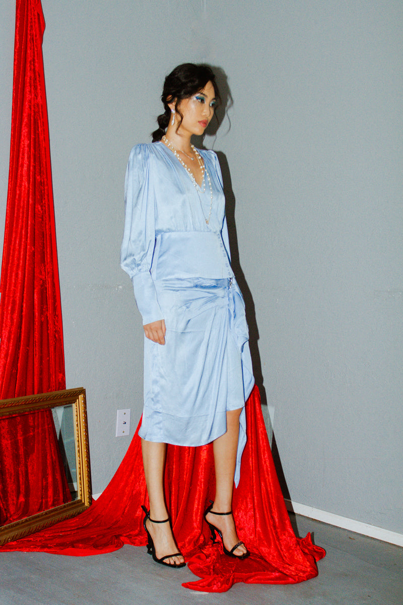 Birgitte Herskind Marylin Skirt in Powder Blue