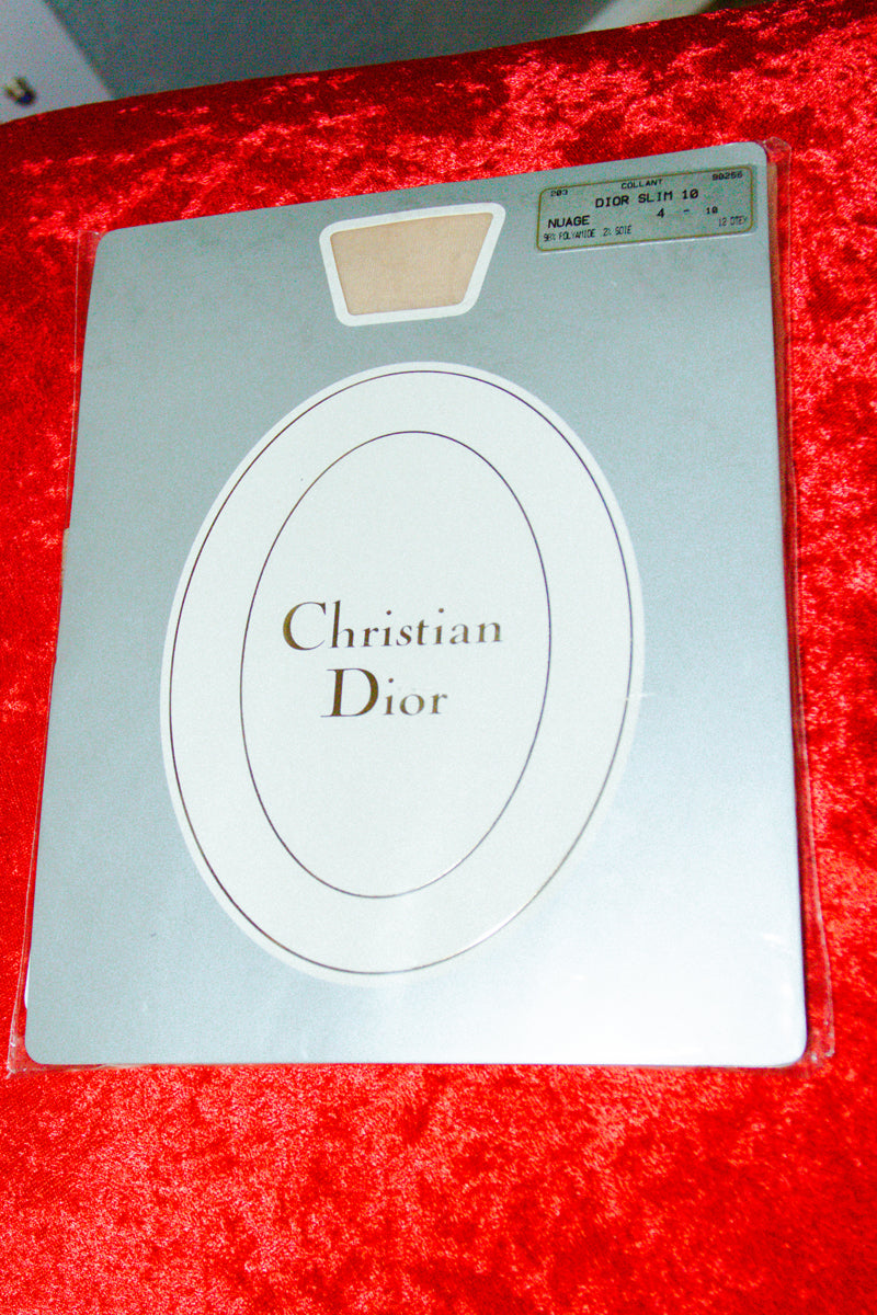 Vintage Christian Dior Stocking in Nuage