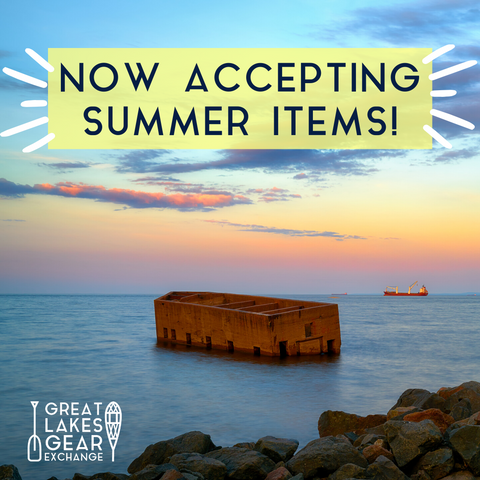 Now accepting summer items