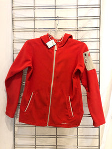 Eddie Bauer Child Size L Red Fleece - Kids
