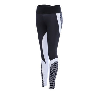 Women Printed Leggings Fitness Slim Workout Leggings