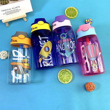 Load image into Gallery viewer, 480ML Kids Water Cup Creative Cartoon Baby